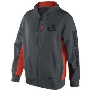 NIKE Therma Fit Oregon State OSU Beavers Jacket